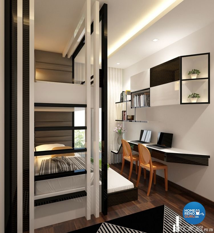 Condo Interior Design Condominium Interior Design Singapore: Idees Interior Design Condo 3 Bedroom At The Interlace 818