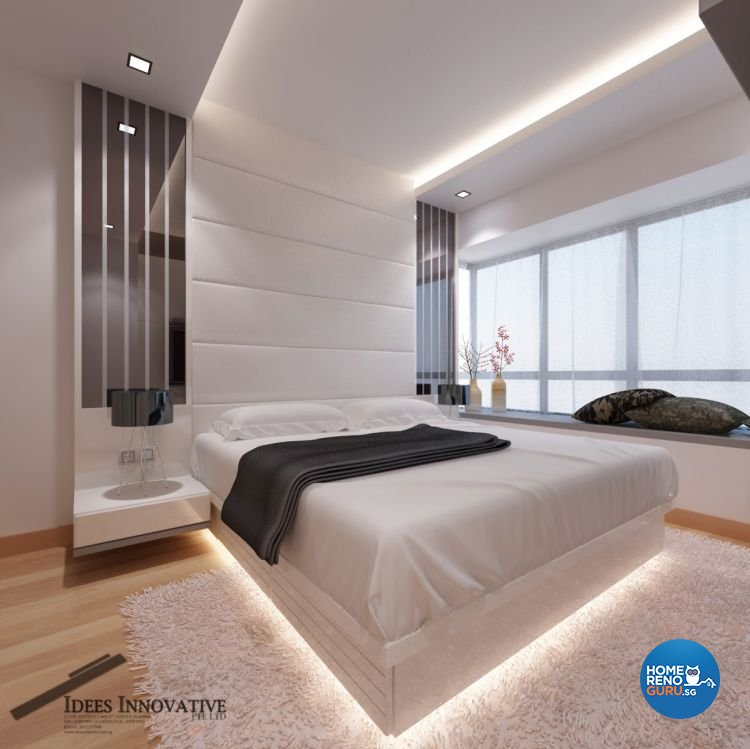 Contemporary, Modern Design - Bedroom - Condominium - Design by Idees Interior Design