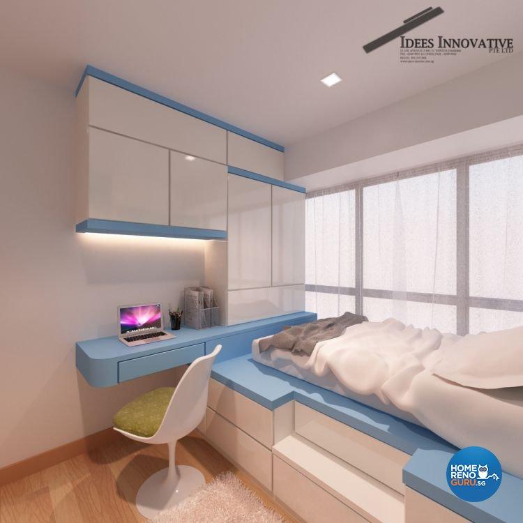 Contemporary, Modern Design - Bedroom - Condominium - Design by Idees Interior Design
