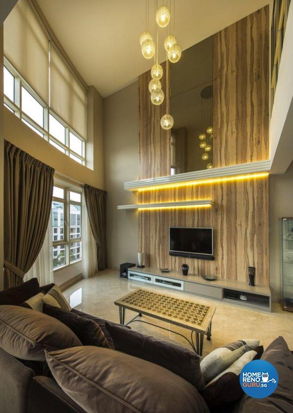 Contemporary, Modern, Tropical Design - Living Room - Condominium - Design by Idees Interior Design