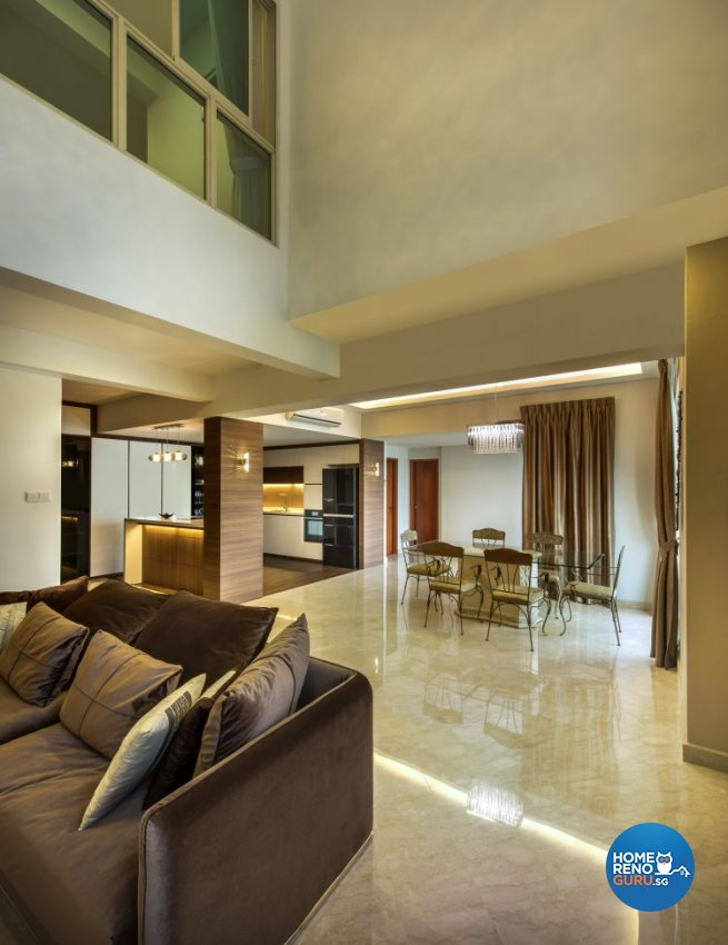 Contemporary, Modern, Tropical Design - Dining Room - Condominium - Design by Idees Interior Design