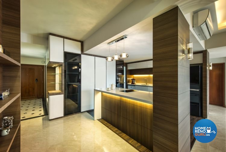 Contemporary, Modern, Tropical Design - Kitchen - Condominium - Design by Idees Interior Design