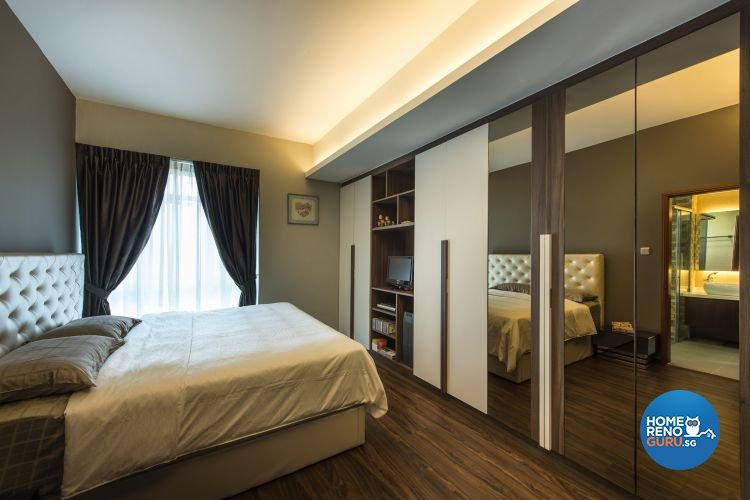 Contemporary, Modern, Tropical Design - Bedroom - Condominium - Design by Idees Interior Design