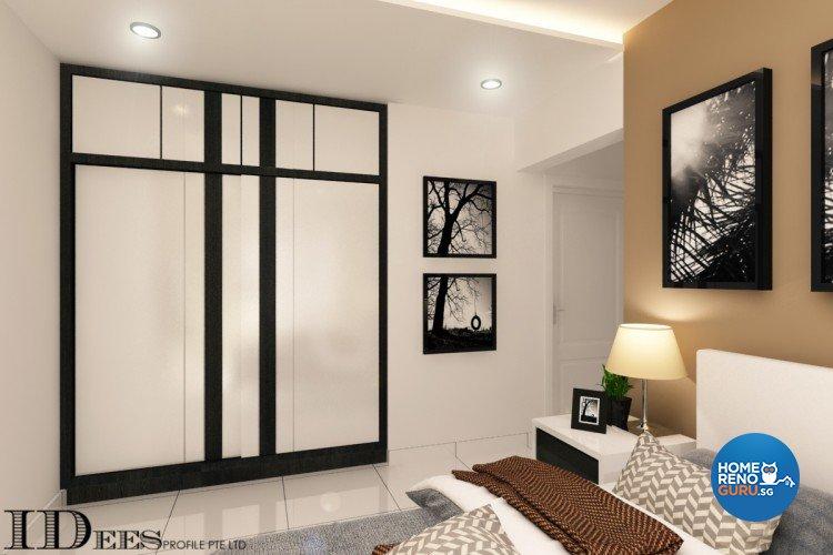 Contemporary, Modern, Scandinavian Design - Bedroom - HDB 4 Room - Design by Idees Interior Design