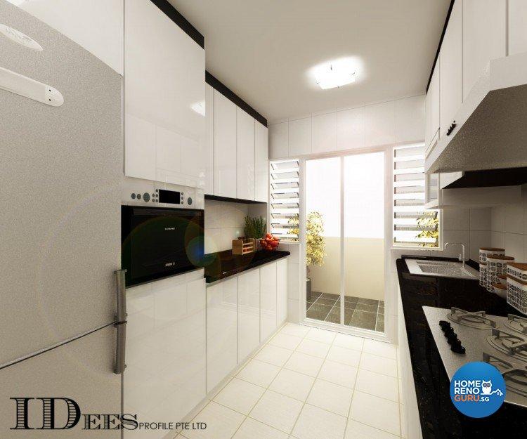 Contemporary, Modern, Scandinavian Design - Kitchen - HDB 4 Room - Design by Idees Interior Design