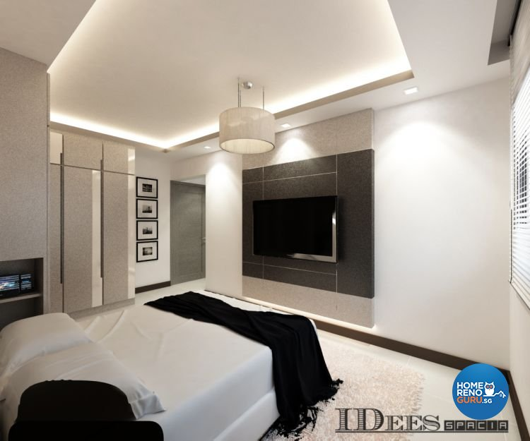 Contemporary, Modern Design - Bedroom - HDB 4 Room - Design by Idees Interior Design