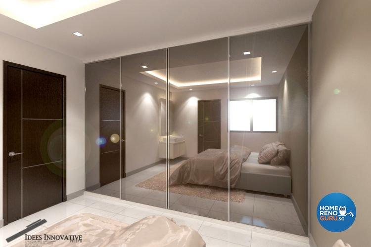 Contemporary, Modern Design - Bedroom - HDB 5 Room - Design by Idees Interior Design