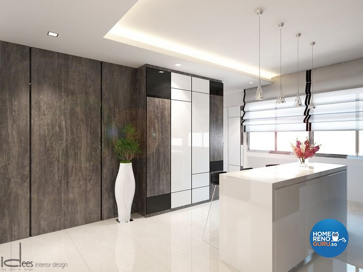 Contemporary, Minimalist, Modern Design - Dining Room - HDB 5 Room - Design by Idees Interior Design