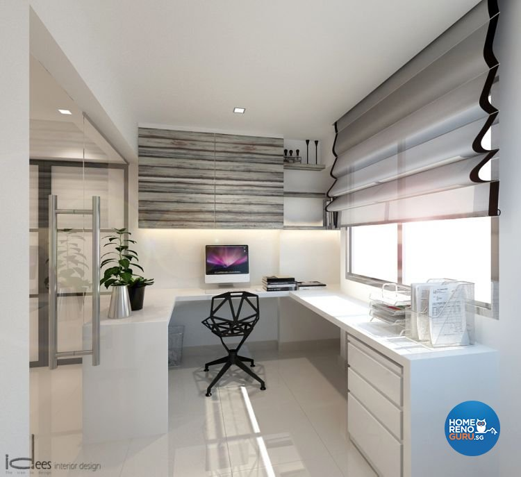 Contemporary, Minimalist, Modern Design - Bedroom - HDB 5 Room - Design by Idees Interior Design
