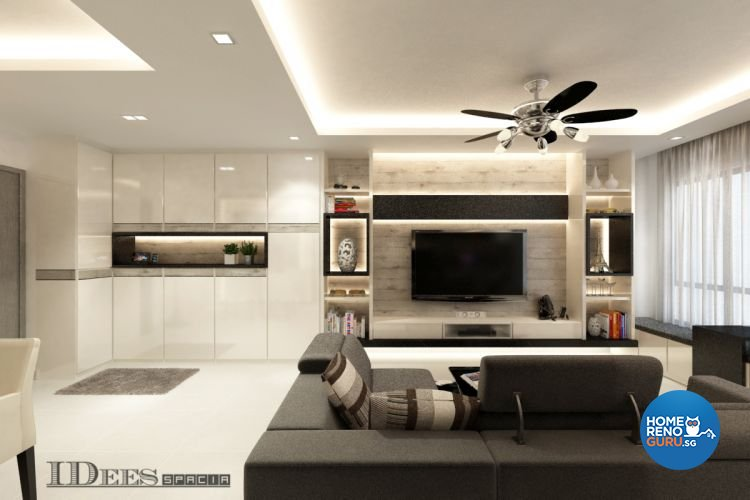 Interior design package posh living interior design pte for Living room packages