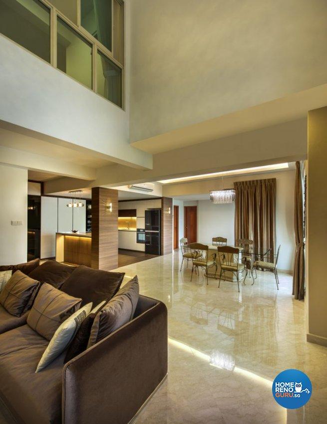 Modern, Scandinavian Design - Dining Room - Condominium - Design by Idees Interior Design