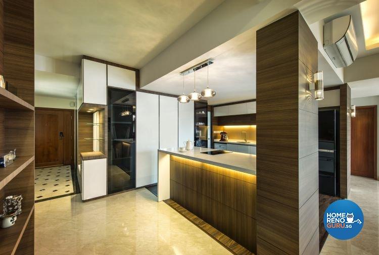 Modern, Scandinavian Design - Kitchen - Condominium - Design by Idees Interior Design