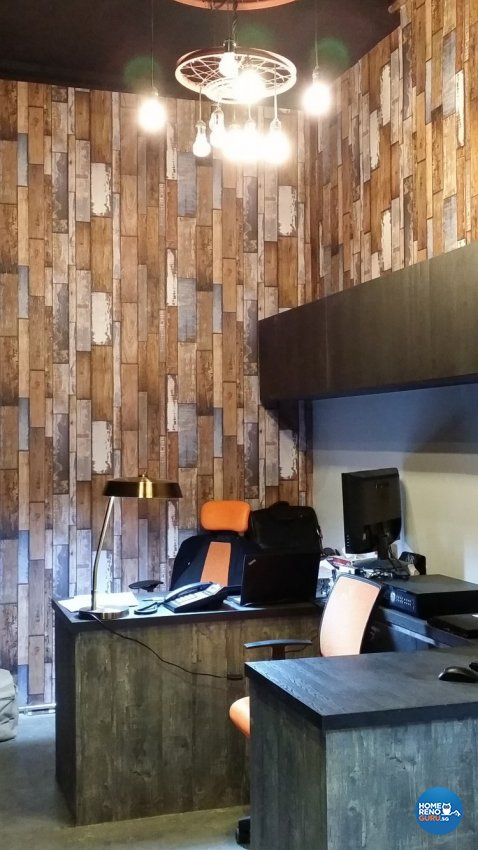 Country, Industrial, Modern Design - Study Room - Others - Design by Idees Interior Design