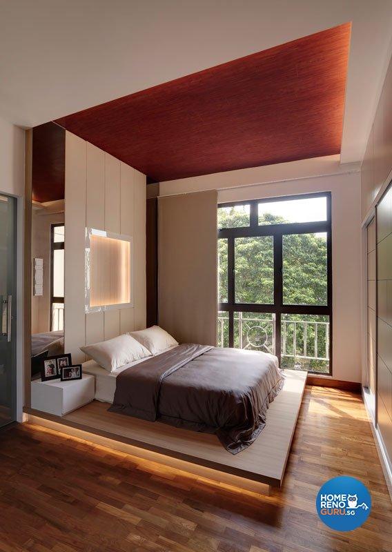 Contemporary, Minimalist Design - Bedroom - Condominium - Design by Idees Interior Design