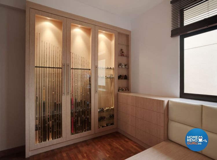 Contemporary, Minimalist Design - Entertainment Room - Condominium - Design by Idees Interior Design