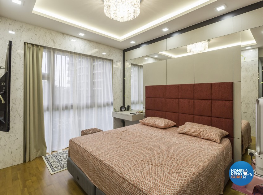 Classical Design - Bedroom - Condominium - Design by Image Creative Design Pte Ltd