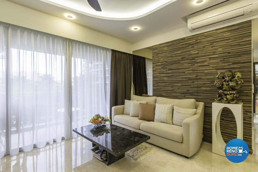 Classical Design - Living Room - Condominium - Design by Image Creative Design Pte Ltd