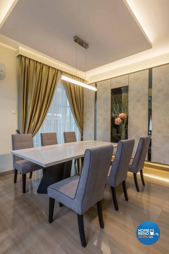 Modern Design - Dining Room - Landed House - Design by Image Creative Design Pte Ltd