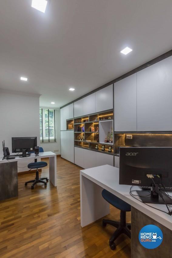 Modern Design - Study Room - Landed House - Design by Image Creative Design Pte Ltd