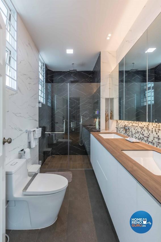 Modern Design - Bathroom - Landed House - Design by Image Creative Design Pte Ltd