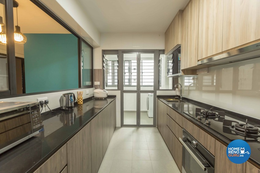 Scandinavian Design - Kitchen - HDB 5 Room - Design by Image Creative Design Pte Ltd