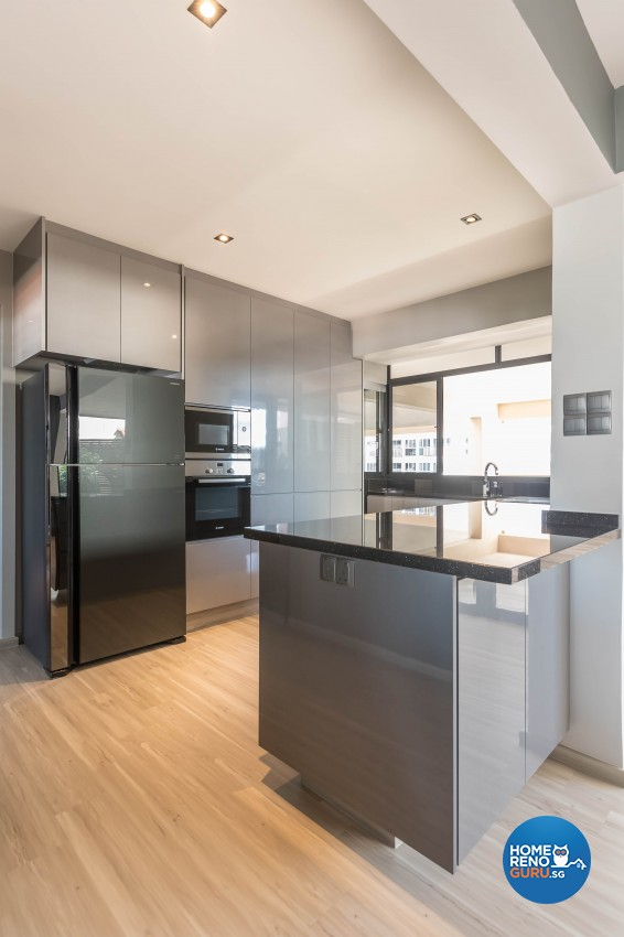 Modern Design - Kitchen - Condominium - Design by Image Creative Design Pte Ltd