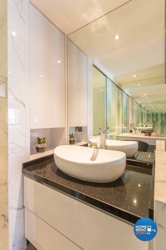 Modern Design - Bathroom - Condominium - Design by Image Creative Design Pte Ltd