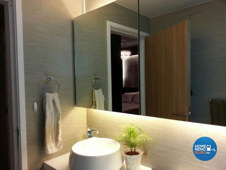 Contemporary, Modern Design - Bathroom - Condominium - Design by Image Creative Design Pte Ltd
