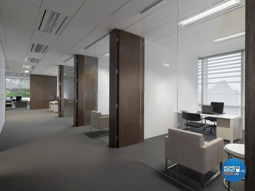 Minimalist Design - Commercial - Office - Design by Image Creative Design Pte Ltd