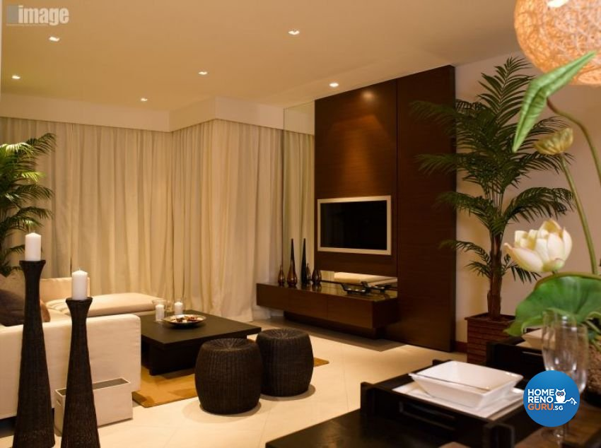 Resort, Tropical Design - Living Room - Condominium - Design by Image Creative Design Pte Ltd