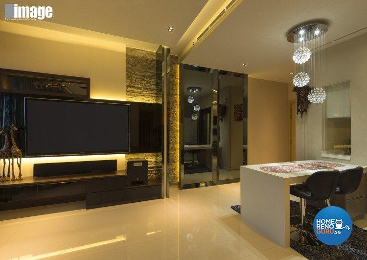 Contemporary, Modern Design - Living Room - Condominium - Design by Image Creative Design Pte Ltd