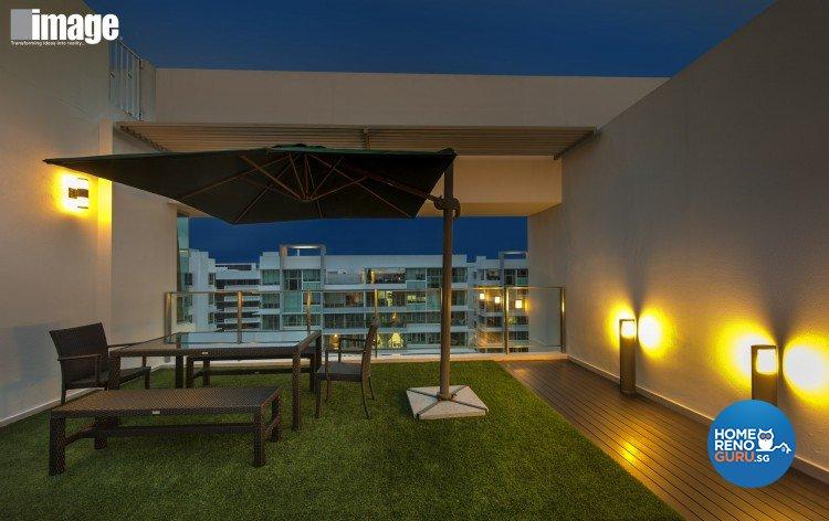 Contemporary, Modern Design - Balcony - Condominium - Design by Image Creative Design Pte Ltd