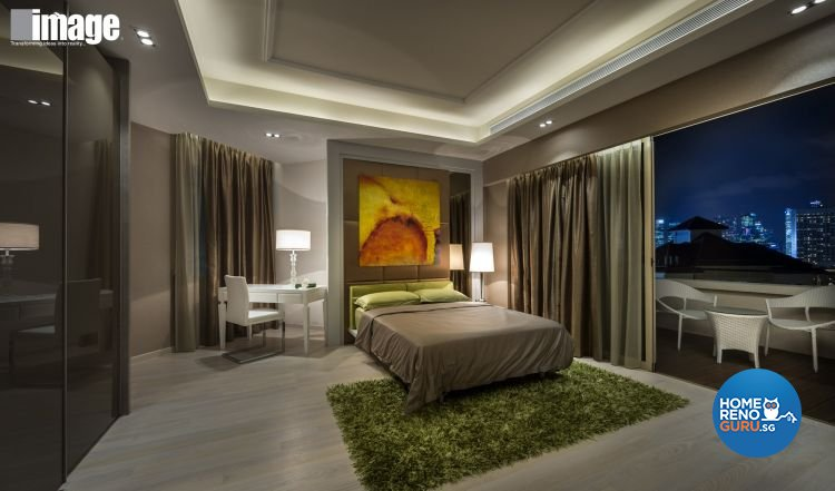 Eclectic, Modern Design - Bedroom - Condominium - Design by Image Creative Design Pte Ltd