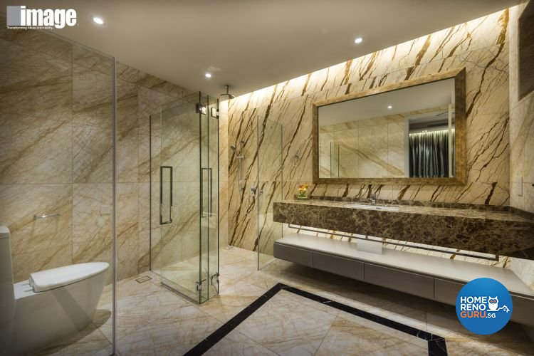 Eclectic, Modern Design - Bathroom - Condominium - Design by Image Creative Design Pte Ltd