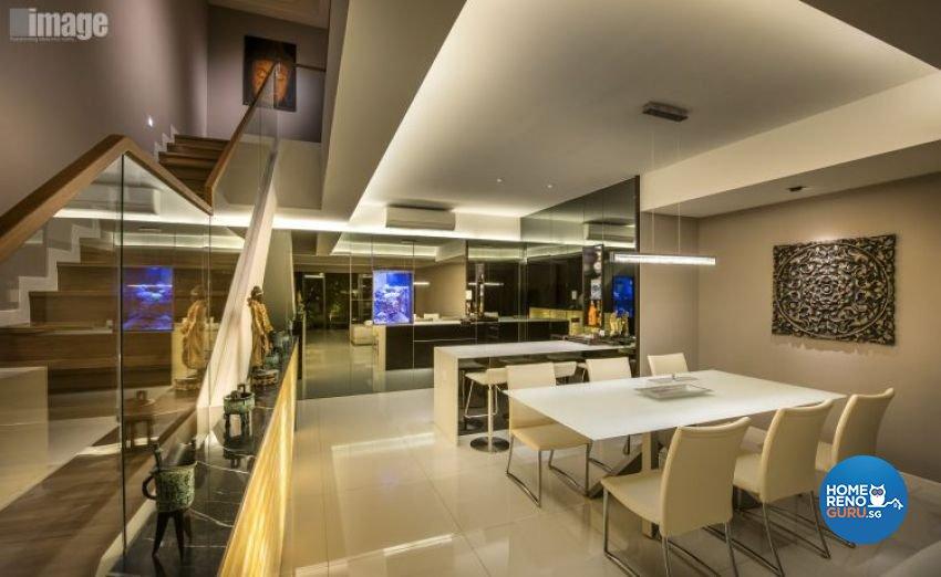 Contemporary, Modern Design - Dining Room - Condominium - Design by Image Creative Design Pte Ltd