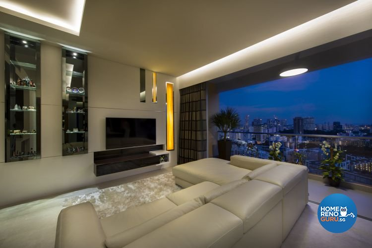 Contemporary, Modern Design - Living Room - Condominium - Design by Image Creative Design Pte Ltd