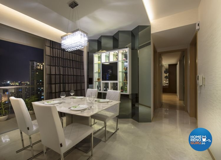 Contemporary, Modern Design - Dining Room - Condominium - Design by Image Creative Design Pte Ltd