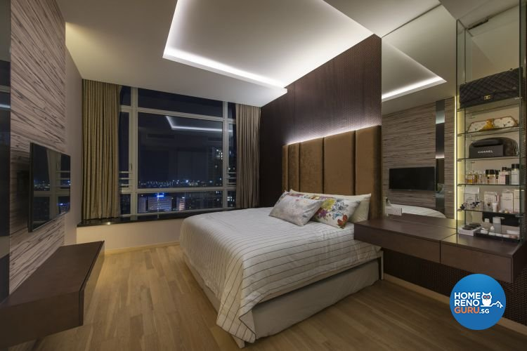 Contemporary, Modern Design - Bedroom - Condominium - Design by Image Creative Design Pte Ltd