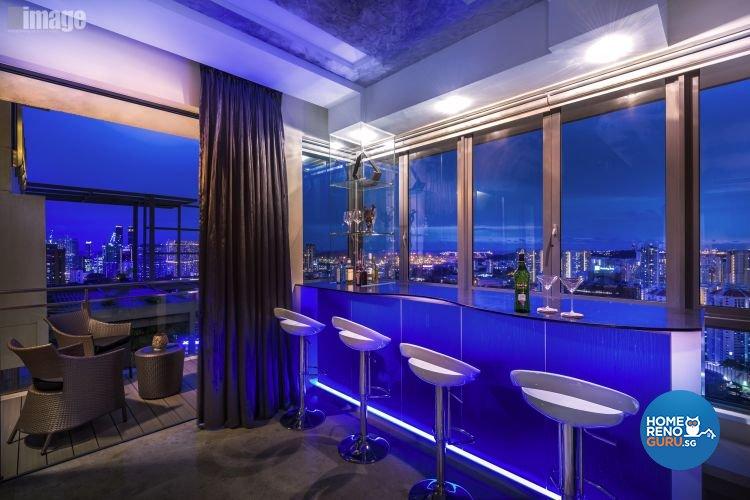 Contemporary, Modern Design - Entertainment Room - Condominium - Design by Image Creative Design Pte Ltd