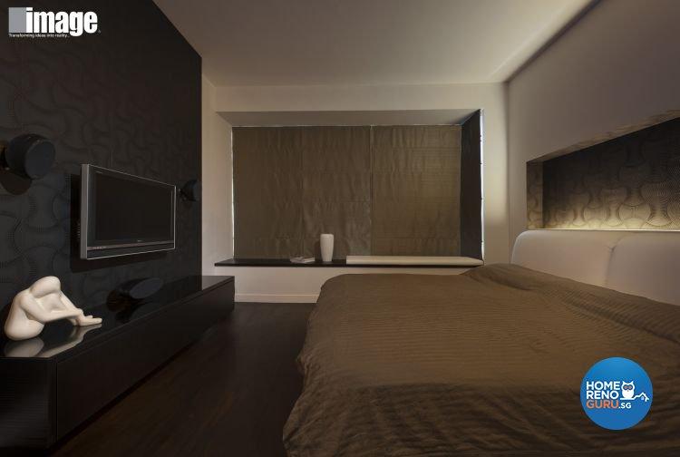 Minimalist, Modern Design - Bedroom - Condominium - Design by Image Creative Design Pte Ltd