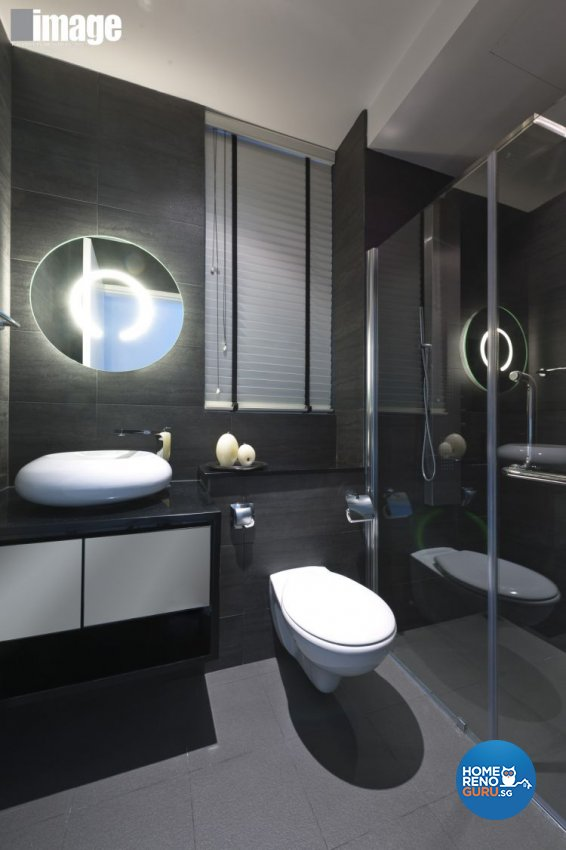Minimalist, Modern Design - Bathroom - Condominium - Design by Image Creative Design Pte Ltd