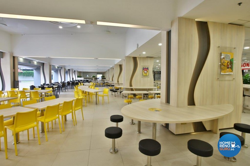 Contemporary Design - Commercial - F&B - Design by Image Creative Design Pte Ltd