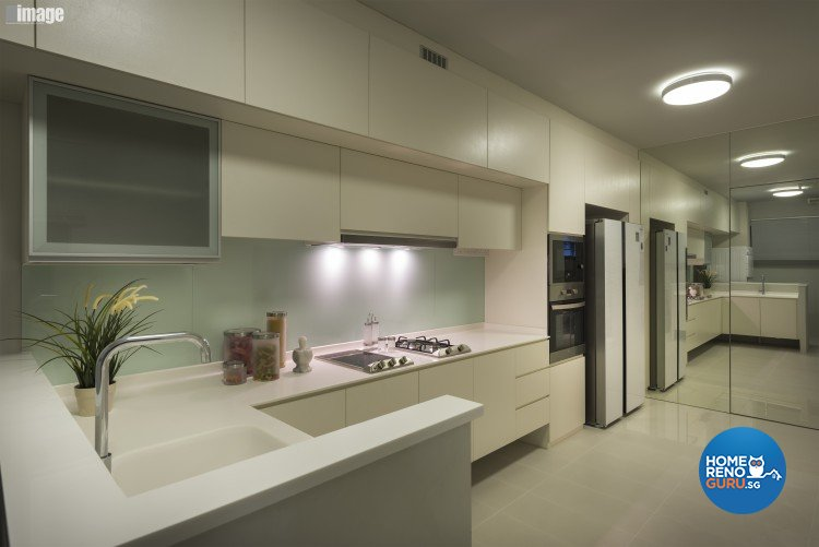 Contemporary, Modern Design - Kitchen - HDB 5 Room - Design by Image Creative Design Pte Ltd