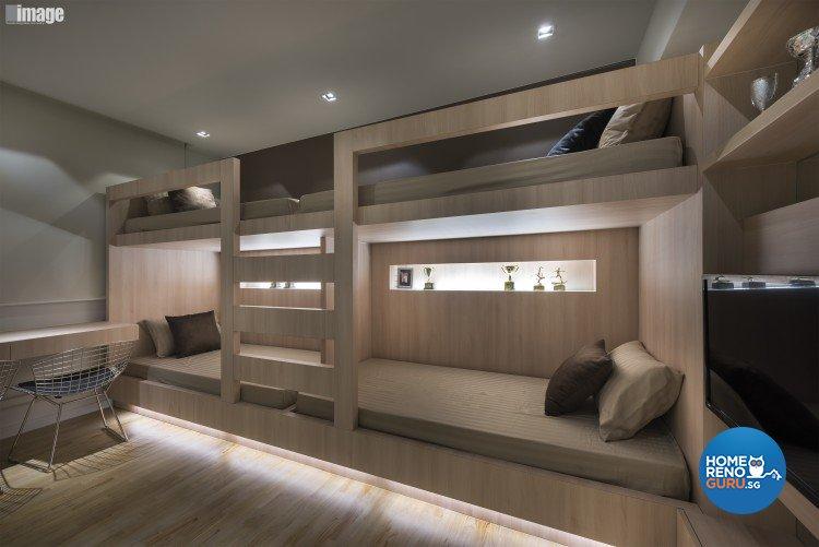 Contemporary, Modern Design - Bedroom - HDB 5 Room - Design by Image Creative Design Pte Ltd