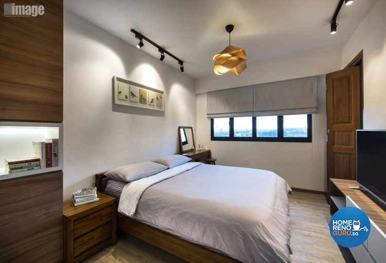 Contemporary, Modern Design - Bedroom - HDB 4 Room - Design by Image Creative Design Pte Ltd