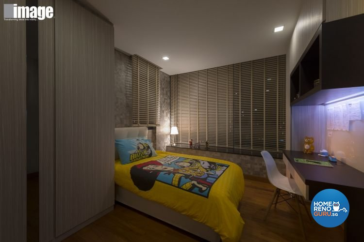 Contemporary, Modern Design - Bedroom - Landed House - Design by Image Creative Design Pte Ltd