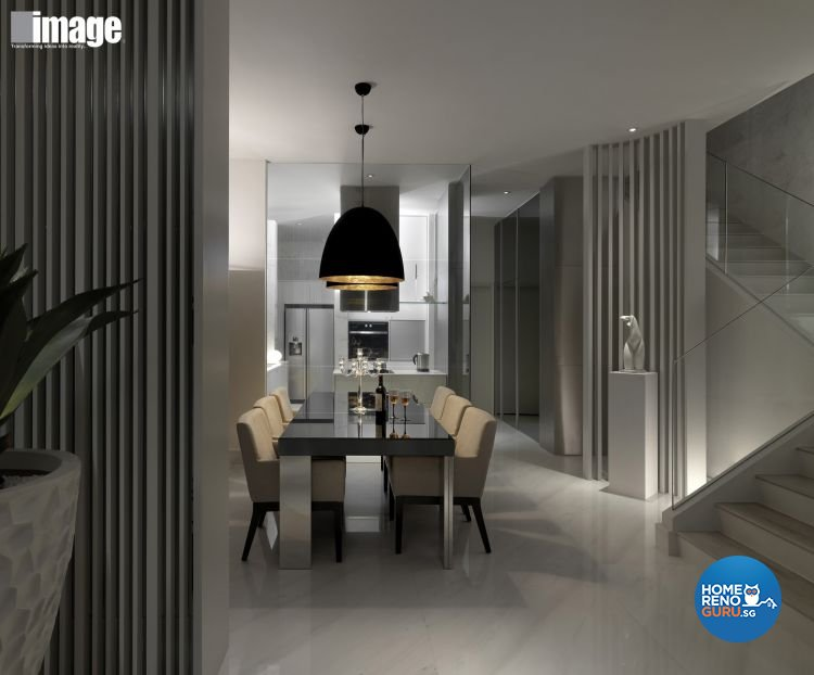 Contemporary, Modern Design - Dining Room - Landed House - Design by Image Creative Design Pte Ltd