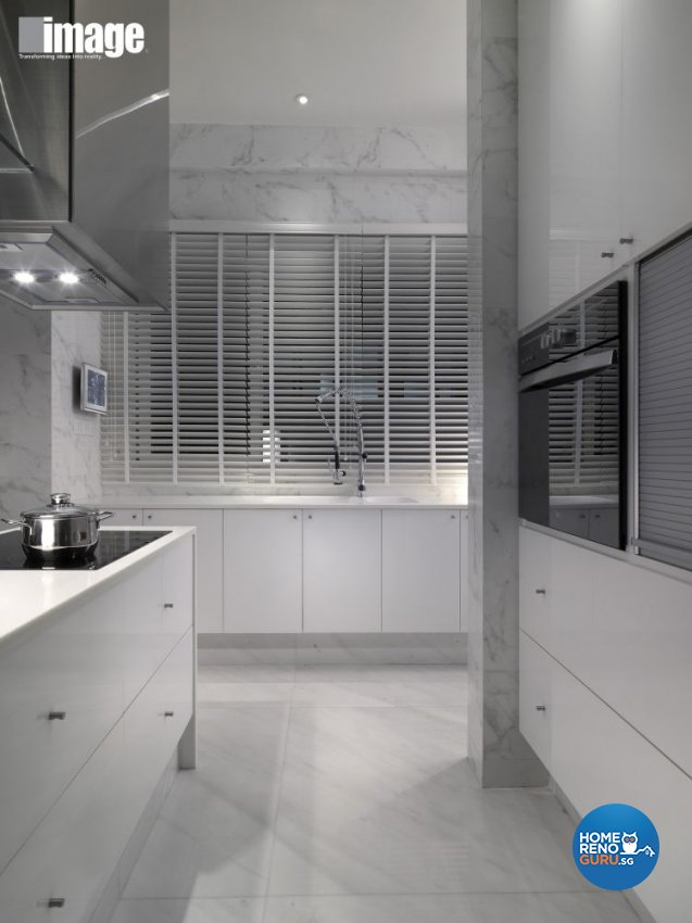 Contemporary, Modern Design - Kitchen - Landed House - Design by Image Creative Design Pte Ltd