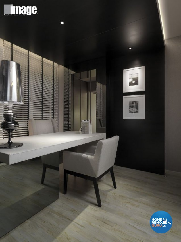 Contemporary, Modern Design - Study Room - Landed House - Design by Image Creative Design Pte Ltd