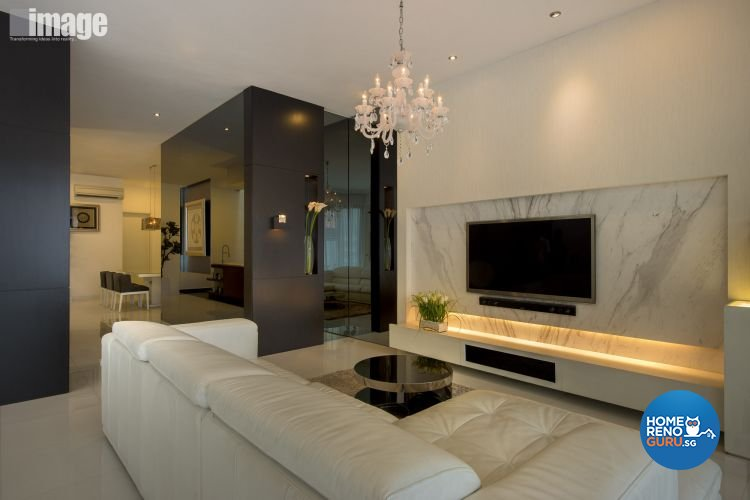 Classical, Contemporary Design - Living Room - Landed House - Design by Image Creative Design Pte Ltd